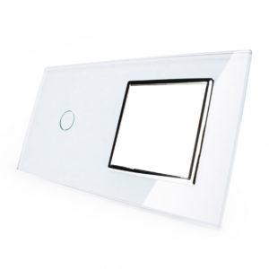 1. Рамка Однолинейный выключатель + розетка (Двухпостовый)