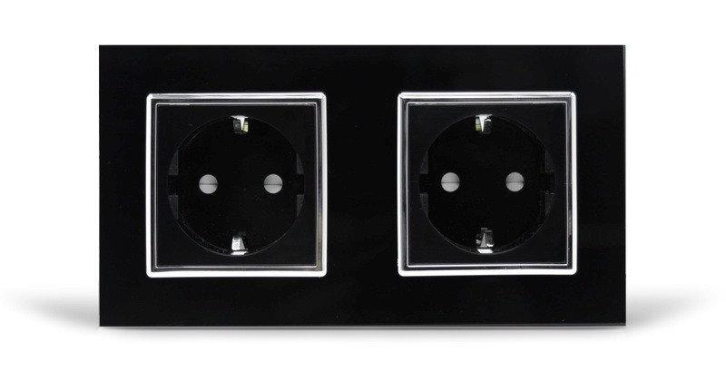 Розетка двойная с заземлением Livolo ... 0436f2beb5033