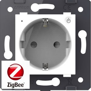 9. Механизмы Розеток 220В WIFI Zigbee